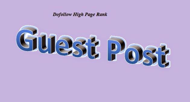 High PR Guest Posting Blog