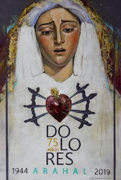 Cartel LXXV Virgen de los Dolores Arahal 2019