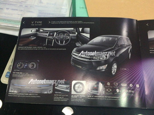All New Kijang Innova Tipe V
