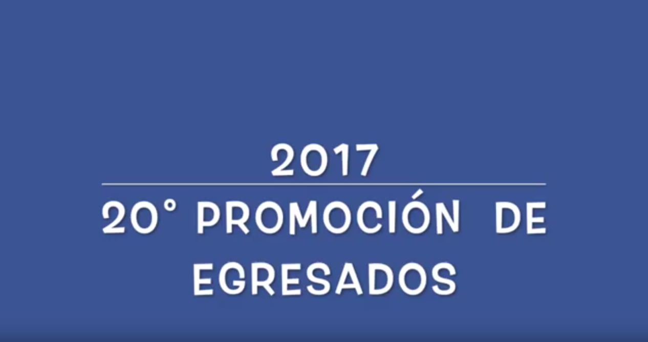 5 TM y TT - VIDEO DE EGRESADOS - 2017