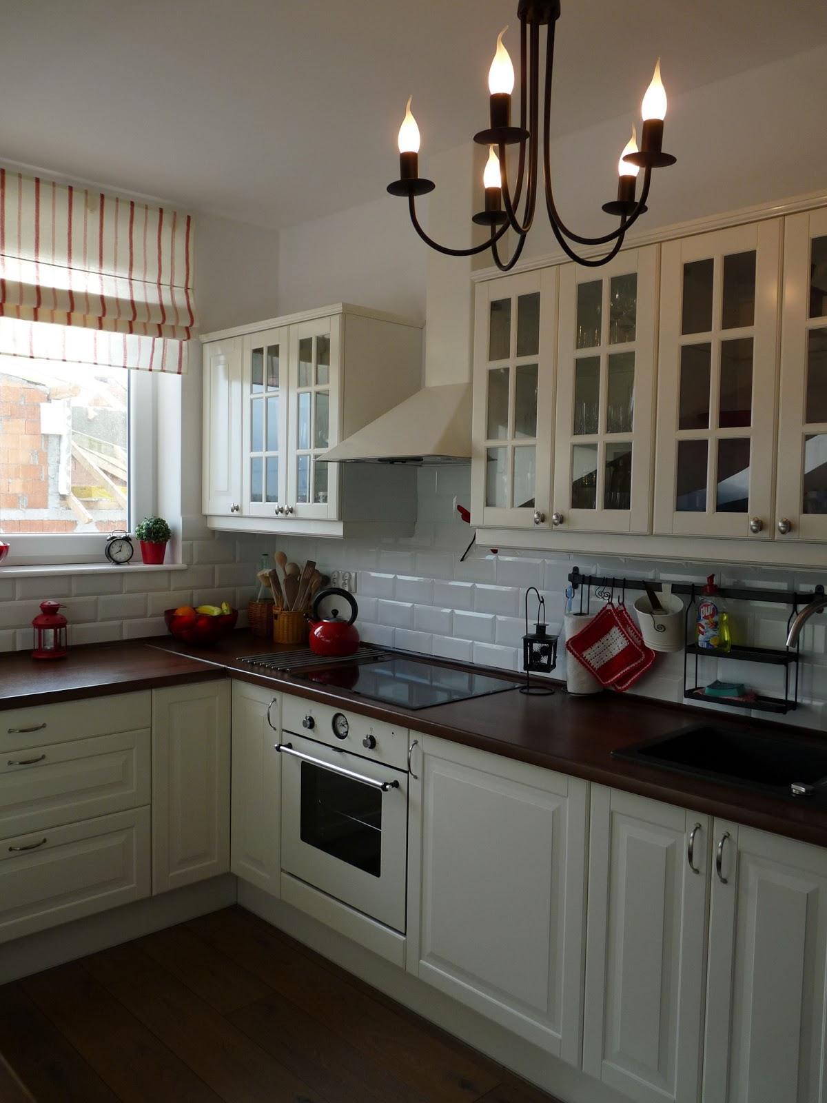 Kalinkowo Moja biała kuchnia z Ikei -> Kuchnia Ikea Opinie