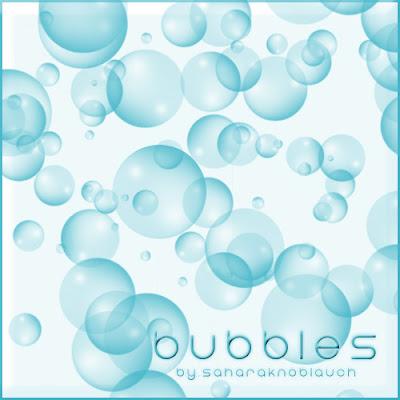 Photoshop: pinceles burbujas