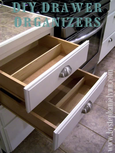 it 39 s written on the wall do it yourself kitchen drawer organizer so easy. Black Bedroom Furniture Sets. Home Design Ideas