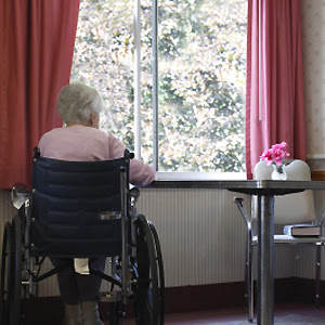 Elderly widows living alone