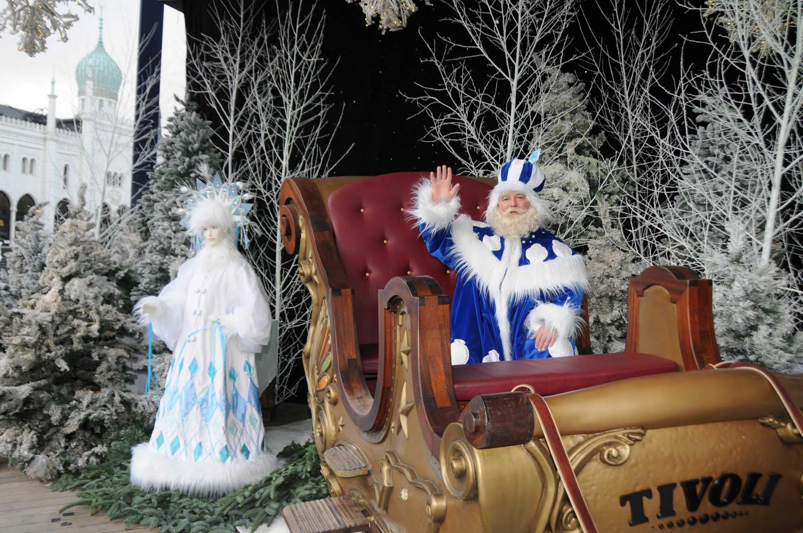 juleudsmykning i tivoli