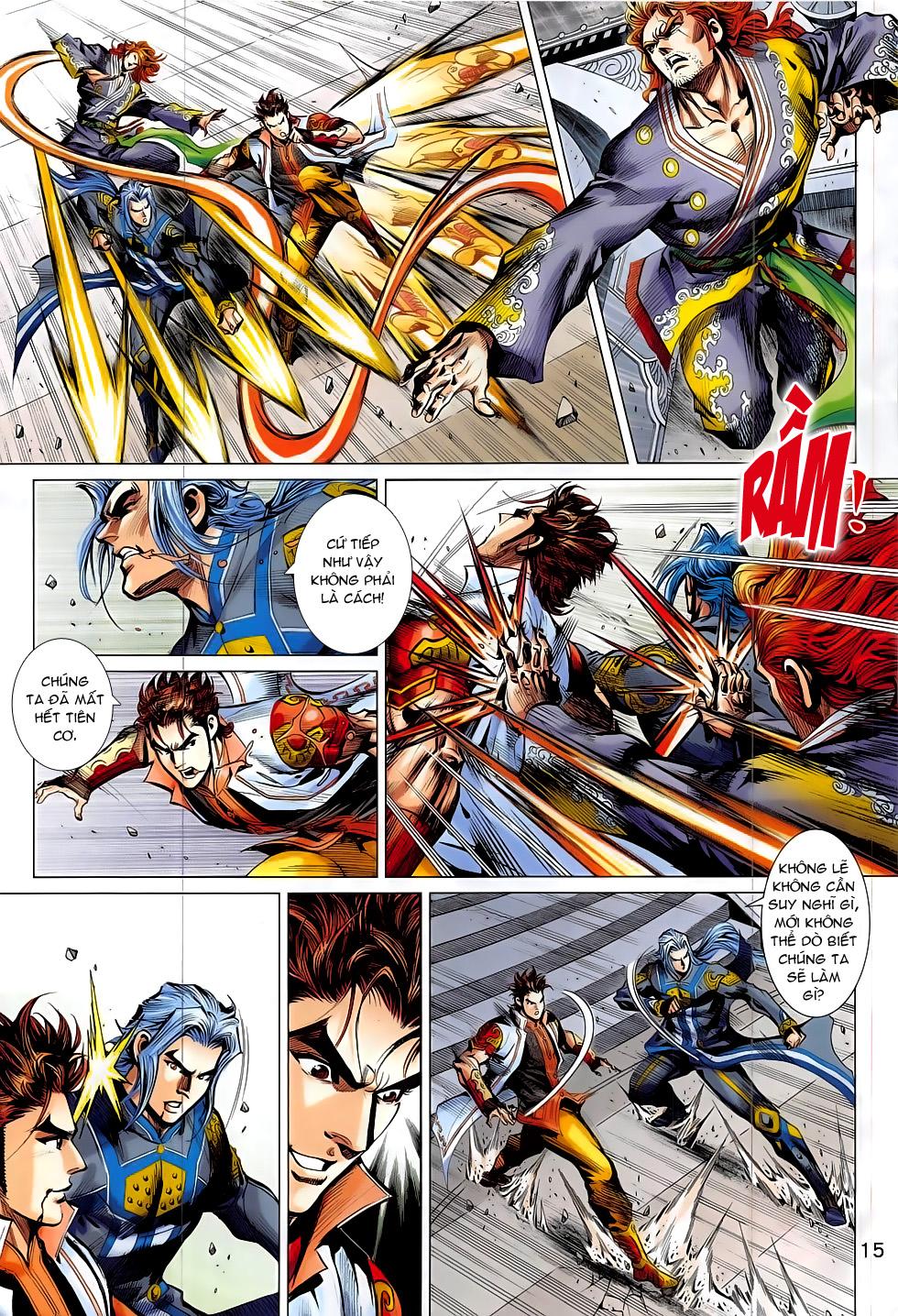 Thần Chưởng trang 18