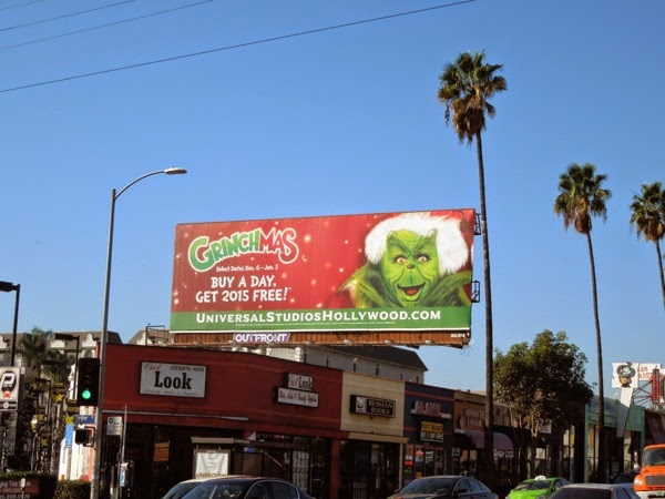 Grinchmas 2014 billboard