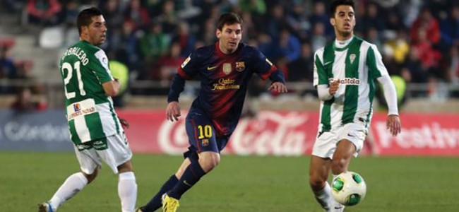 Córdoba vs Barcelona