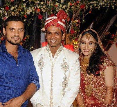 Wedding Pics Of Cricketers