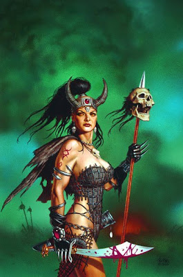 barbarian warrior woman