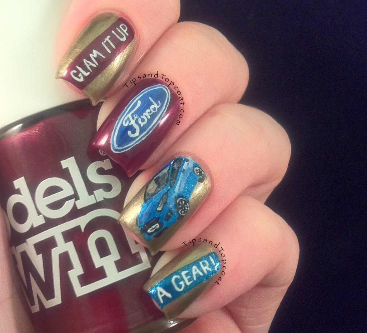 Country Girl Nail Designs So ill start with the nail art