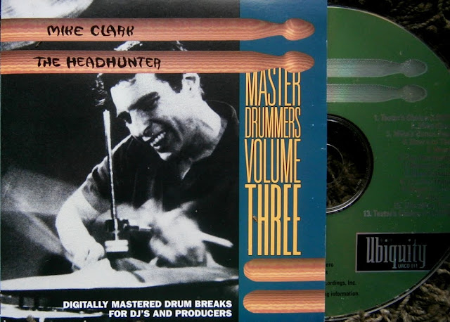 Mike  Clark - The Headhunter  ~ Master Drummers Volume Three on Ubiquity 1995