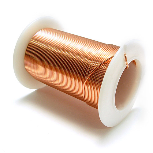 Metal Wire Spools : Wide variety of copper uses in form wires and foils