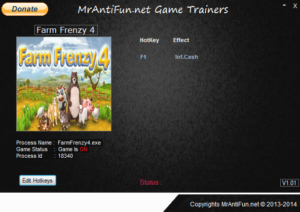 Farm Frenzy 4 V1.00 Trainer +1 MrAntiFun