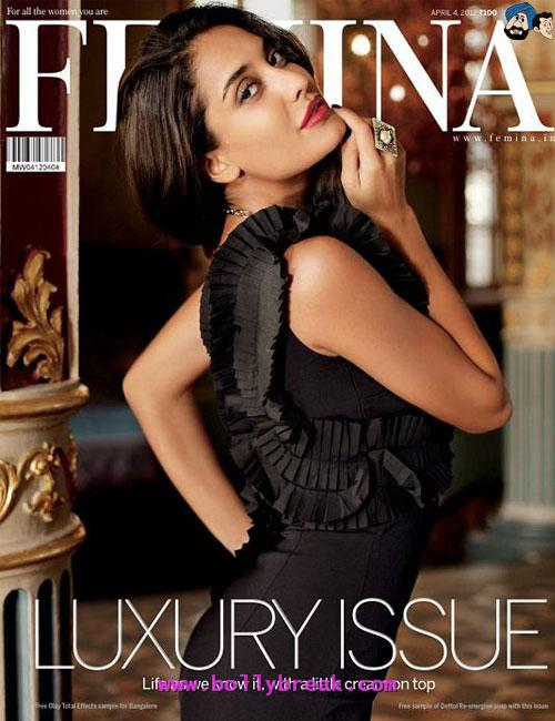 Mallika Haydon Femina - (5) - Bollywood Magazines April 2012 Cover Scans