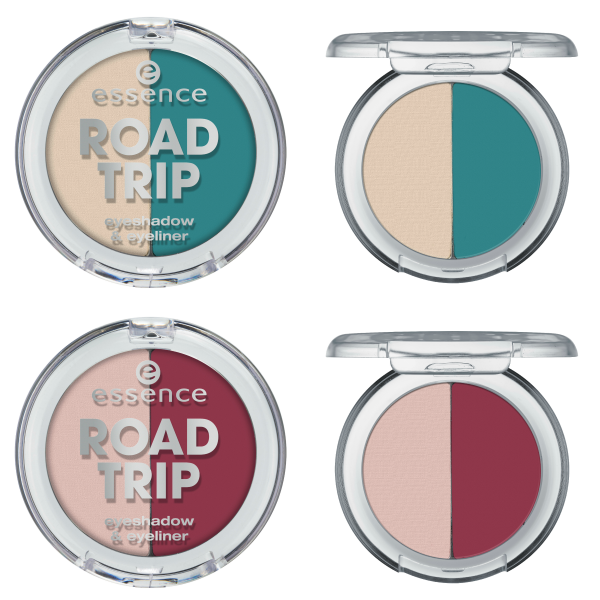 essence road trip – eyeshadow & eyeliner