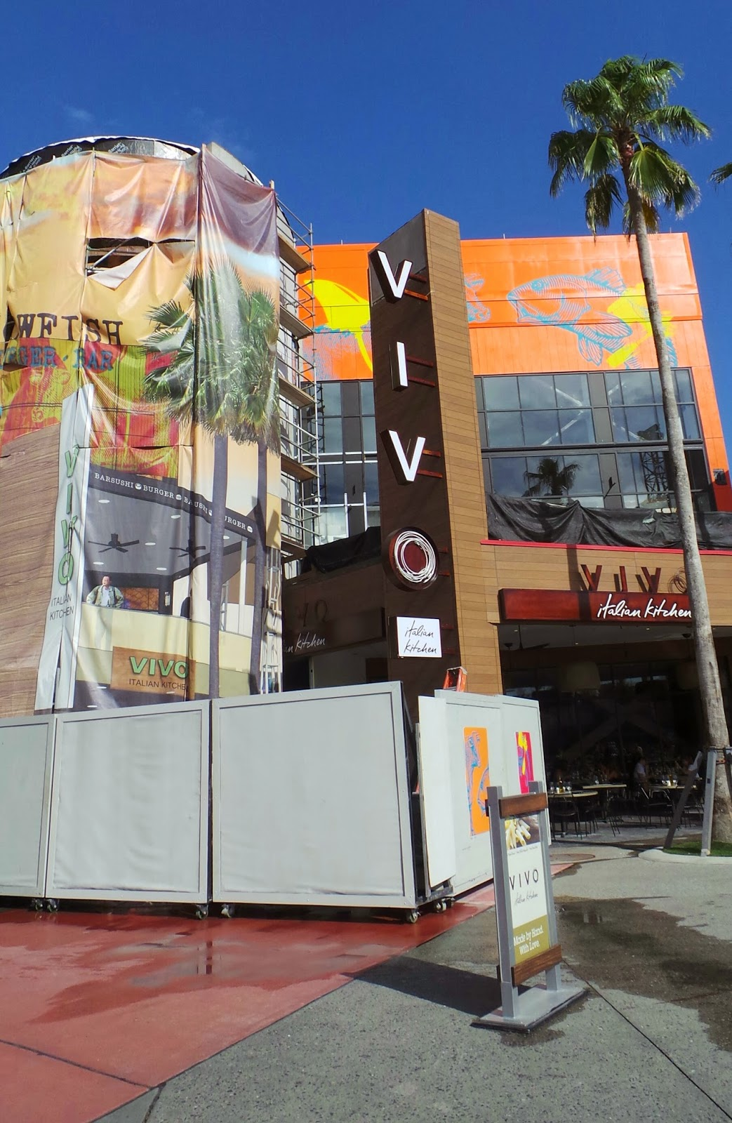 FREE IS MY LIFE: REVIEW: VIVO! Italian Kitchen at Universal ...