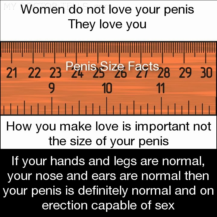 Length of penis for sex