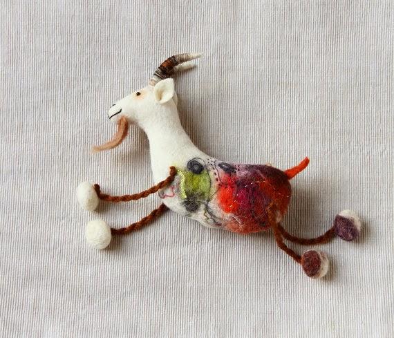 http://www.etsy.com/listing/169176631/friedrich-felt-goat-felted-animal-art