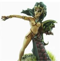Hechicera elfa oscura