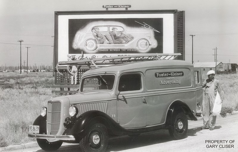 FOSTER AND KLEISER SIGN INSTALLERS, 1936, CALIFORNIA