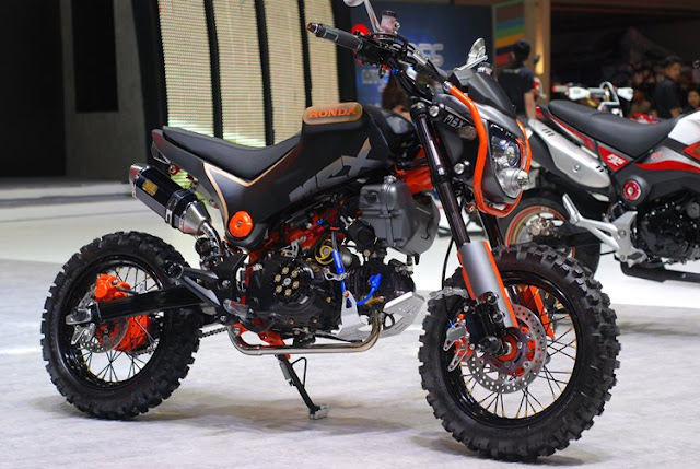life on two wheels honda grom scrambler concepts
