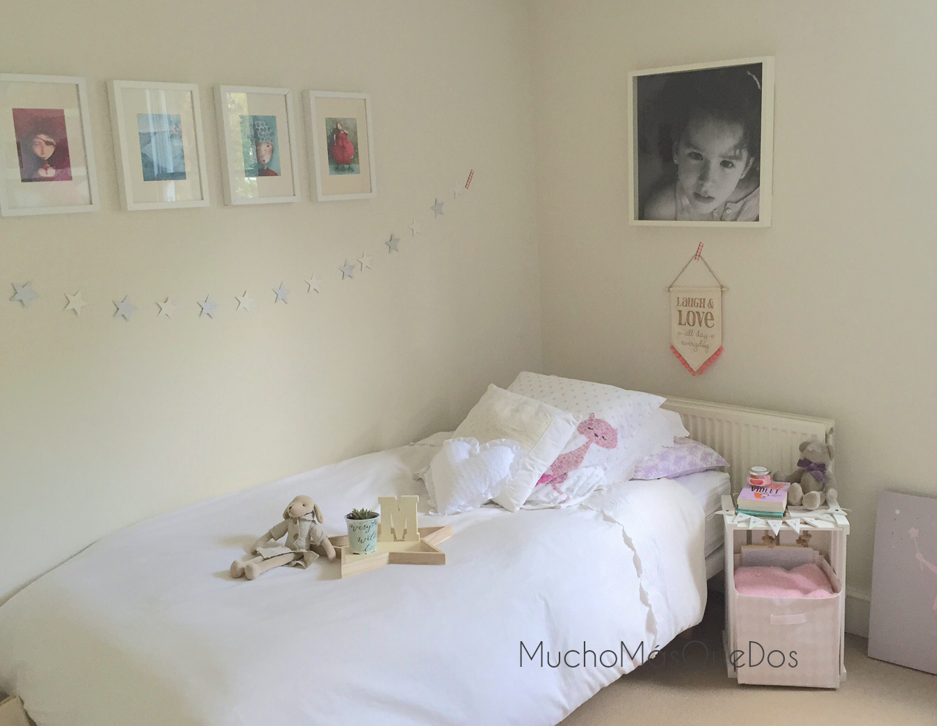 Mucho m s que dos decoraci n infantil low cost la - Habitaciones low cost ...