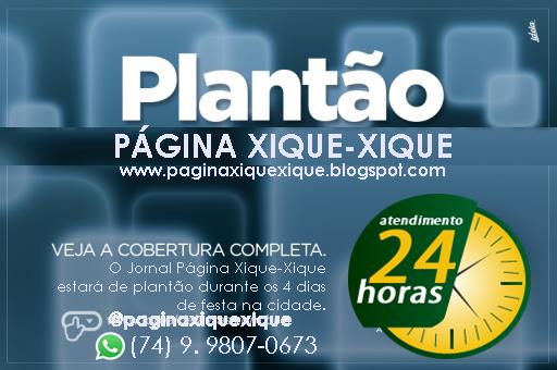 PLANTÃO FESTA DA CIDADE