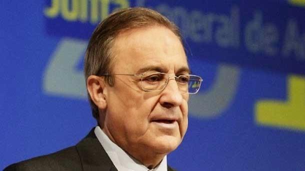 Florentino impedirá la entrada de banderas y símbolos fascistas en el Clásico