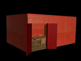 Sala de jantar em 3D - 02