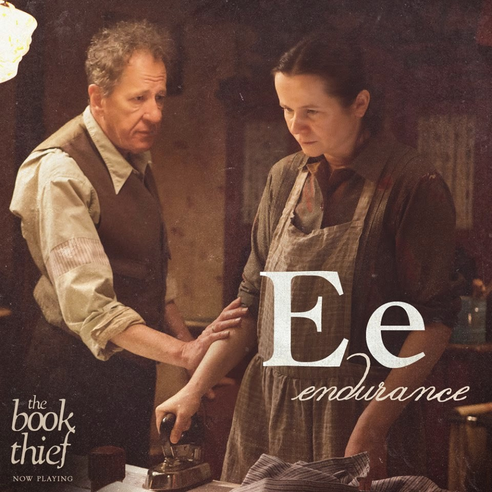 the book thief letters e endurance