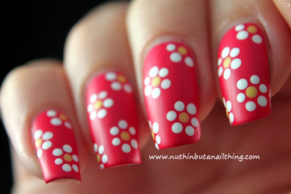 nuthin\' but a nail thing: 33 Day Challenge - Day 10 - Flowers