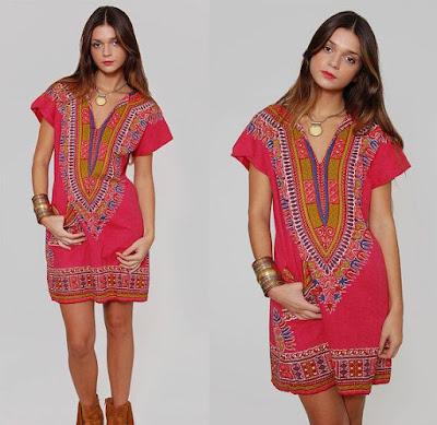 дашики купить африканские ткани