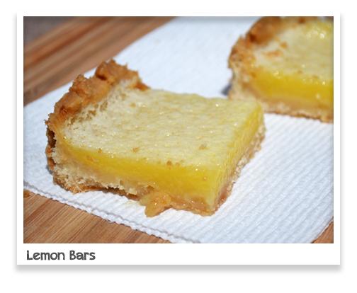Ice Cream Before Dinner: Classic Lemon Bars