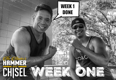 Hammer and Chisel Challenge Week One - Hammer and Chisel Workout Schedule - Hammer and Chisel at the Gym