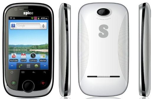 spice mi 280 dual sim gsm + cdma android phone. under 5000