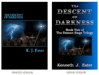 Fantasy Novel - Descent of Darkness, by: K.J.Ester