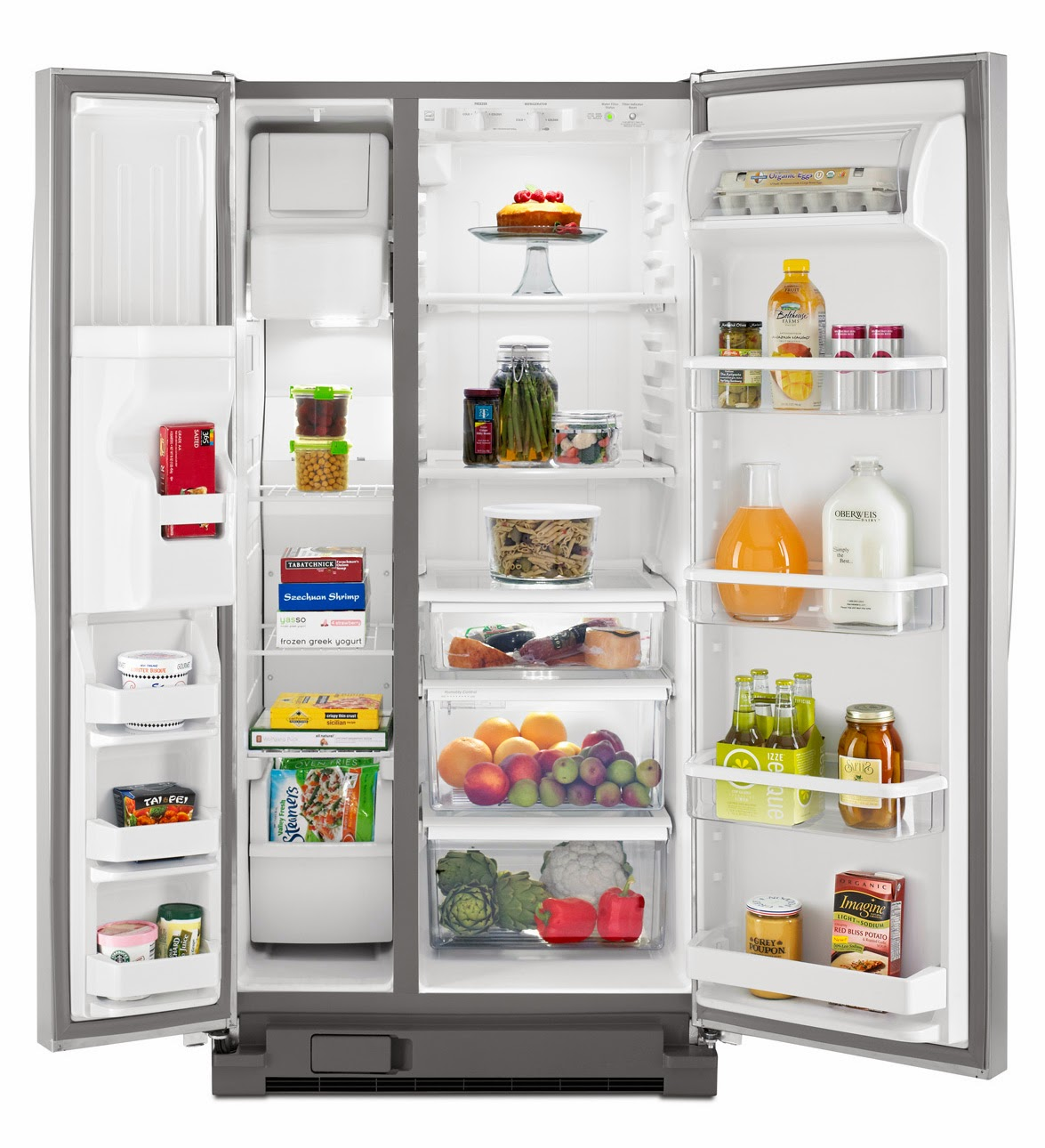 Whirlpool Refrigerator Brand 22 Cubic Foot Side By Side