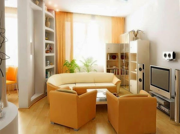 Designing A Small Living Room From A To Z - 20 Design Ideas