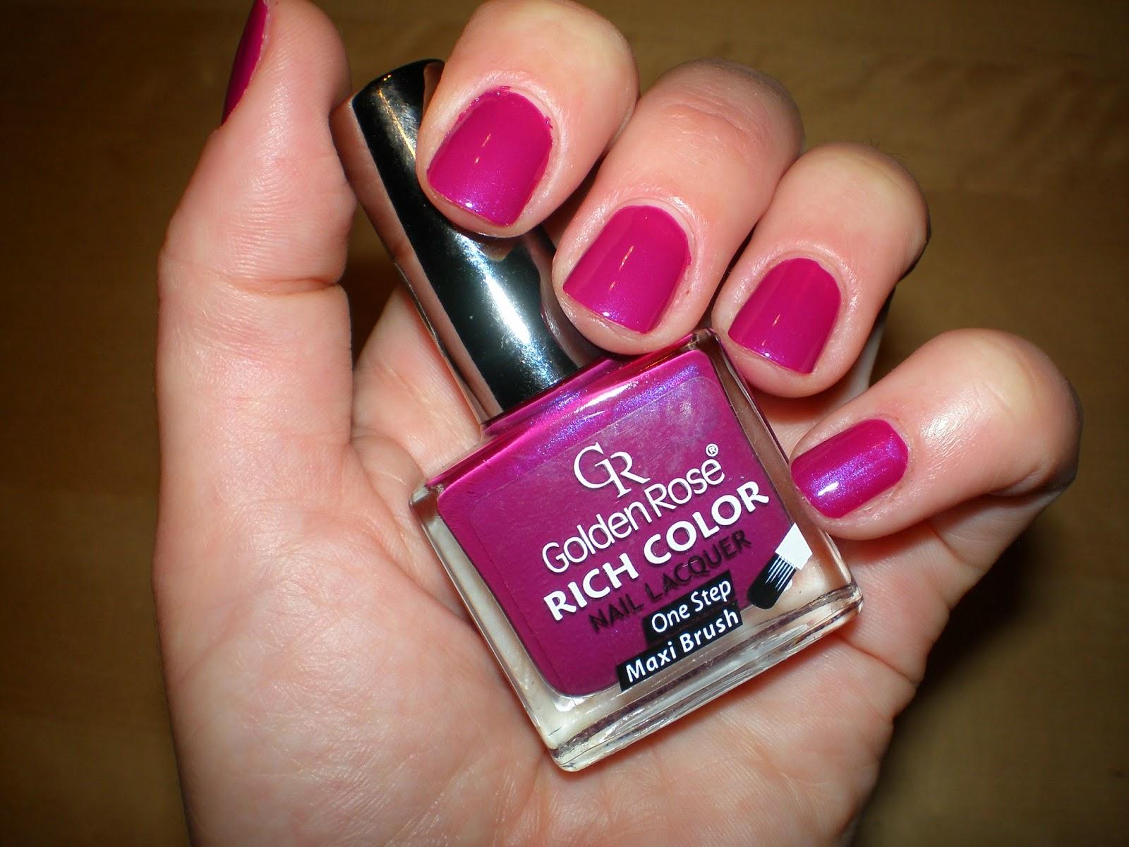 Golden Rose Rich Color Nail Laquer