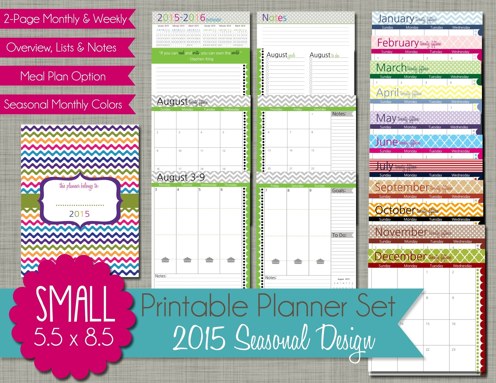 Free Printable Daily Planner Sheets 2016 | Calendar Template 2016