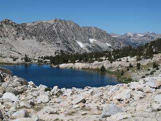 Der idyllische Lower Mills Creek Lake
