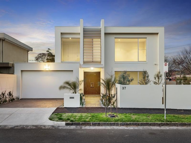 World of architecture modern minimalist residence in for Amazing house designs australia
