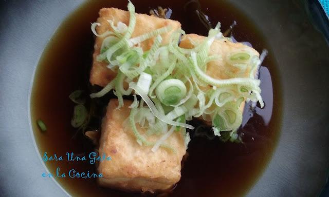 Agedashidofu ?????? (tofu Frito)