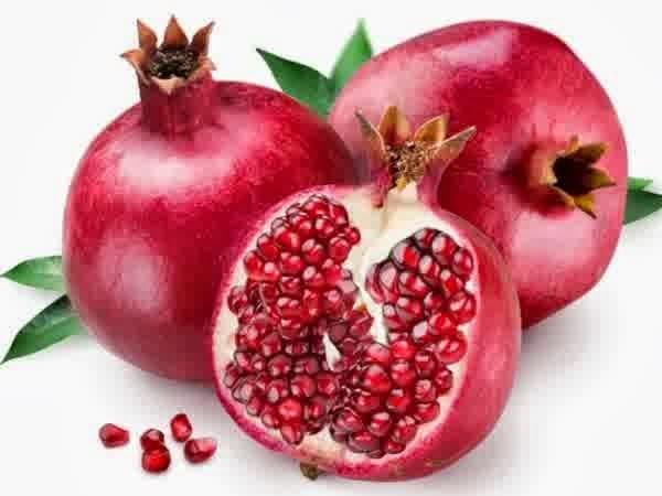 manfaat buah delima merah