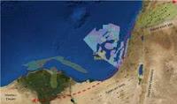 Κονοφάγος,Λυγερός ΑΟΖ Κύπρου, ΑΟΖ Ισραήλ