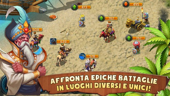 Trucchi Kingdoms & Lords – Battaglia e strategia iPhone diamandi infiniti