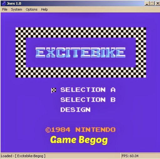 Download Game Nintendo Excitebike Motorcross