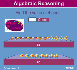 Life, Love, Literacy: Math Routine: Algebraic Thinking Day