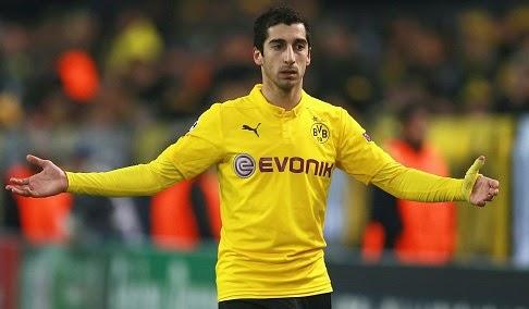 Henrikh Mkhitaryan could leave Dortmund